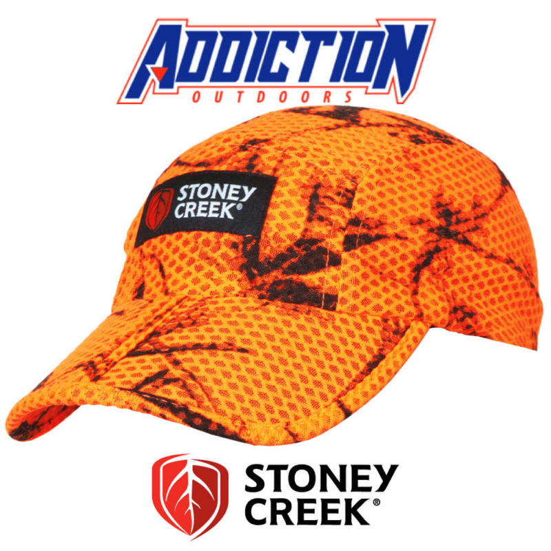 Split Peak Cap - Blaze Orange 7018