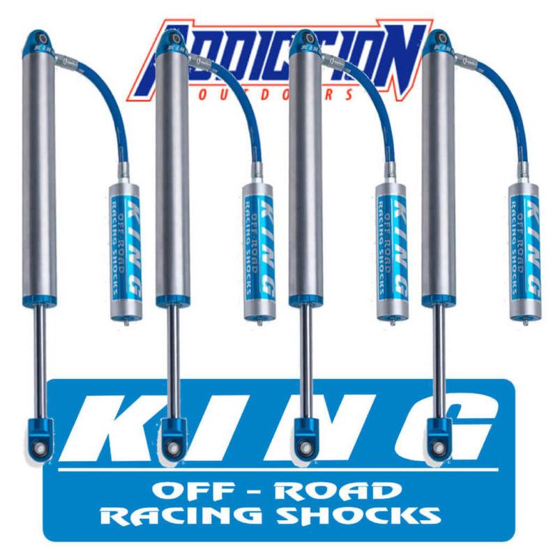 "King 2.5 Performance Series Remote Reservoir 6"" Lift Set - Toyota Landcruiser 70 Series 2007-0N"