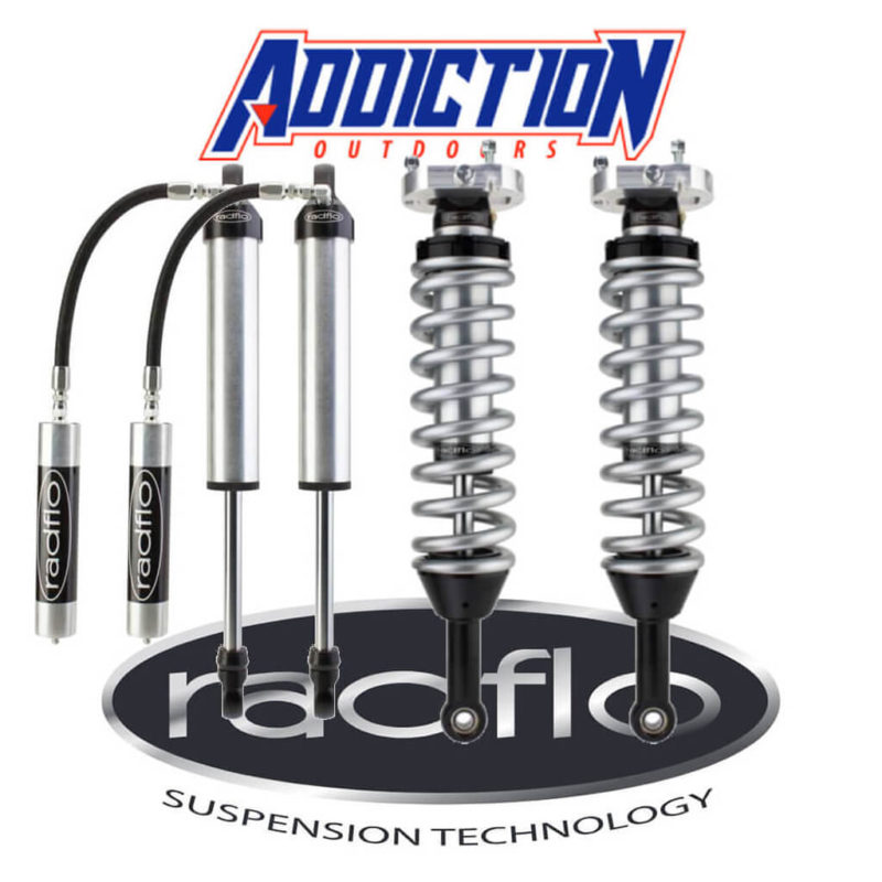 "Radflo 2.5 Ifp 1-3"" Lift Set 2.0 Remote Reservoir Rear - Isuzu Dmax  2012-ON"