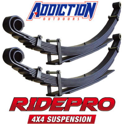 Ridepro Leaf Rear 6+2 (500kg-GVM) each -Holden Colorado RG 2012-on 2""